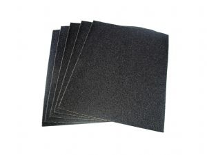 Sand Paper, 10 x Sheets WET & DRY  150g Grit Sandpaper Sheets A4 Size. X8162